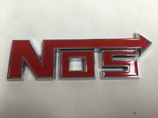 NOS Emblem Schriftzug Lachgas Logo