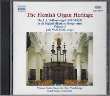 Jan Van Mol The Flemish Organ Heritage Volume 3 CD Naxos JJ Delhaye Hoogstraten