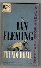 THUNDERBALL JAMES BOND 007 IAN FLEMING SIGNET P2734 PAPERBACK 1961