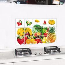 Fruits Kitchen Waterproof Bathroom Sticker Tile For Wall Sticker Home Decor