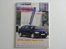 revue technique et pratique automobile RTA neuve OPEL Astra depuis 04.98 diesel