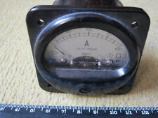 RARE SOVIET variable Ammeter С25/2 (0-100) 1964 year (60mm x 60mm x 50mm) black