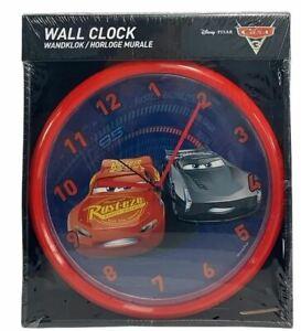 Cars 3 Wall Clock - Joblot 12 units