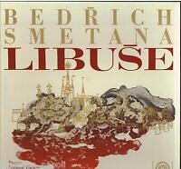 Smetana: Libuse/Krombholc, Kniplova', Zidek, Kroupa, Jindràk - LP NM/Ex