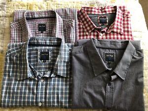 Mens James Pringle shirts (bundle of 4) size XXL short sleeved