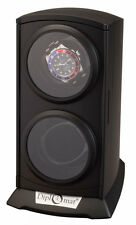 Diplomat Dual Watch Winder  Automatic Economy Double  Tower Black New