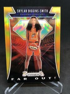 2020 Panini WNBA Prizm SKYLAR DIGGINS SMITH GOLD PRIZM /10 FAR OUT INSERT SP