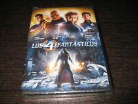 Los 4 Fantastici DVD Jessica Alba Chris Evans Idan Gruffudd Sigillata Nuovo