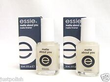 Essie Nail Treatment Matte about You .5oz/14mL ~ 2ct~