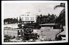 Honolulu HI~1940s Outrigger Canoe Club~Royal Hotel~RPPC