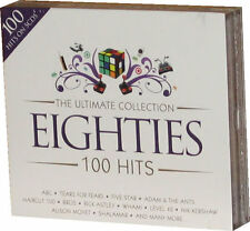 Ultimate Eighties 5 CD set of 80s 1980s Original Music