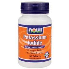 Now foods Potassium Iodide 30mg 60 tabs (2 pack)