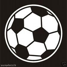 SOCCOR BALL WINDOW DECAL FOR THE SOCCOR PLAYER