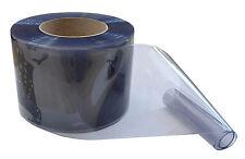 PVC Streifenvorhang Lamellen Streifen 300x2mmx40mtr klare Rolle