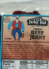 The Jerky Hut - Smoked (Cowboy) beef jerky  (8oz)