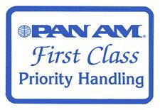 """Pan Am First Class Fridge Magnet 3.25"""" x 2.25"""" Collectibles (LM14116)"""