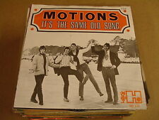 DUTCH BEAT 45T SINGLE / THE MOTIONS - IT'S THE SAME OLD SONG