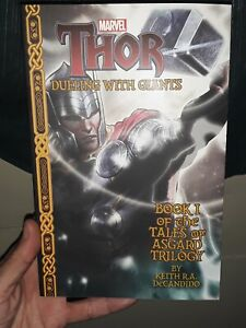 **NEW** Marvel - Thor: Dueling With Giants Bk 1 of the Tales of Asgard Trilogy