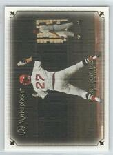 2007 UD MASTERPIECES  Baseball Pick 10 Cards To Complete Your Set