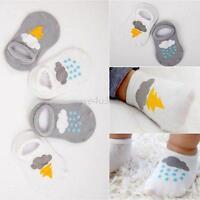 Tout-petits bébé Anti Slip anti-dérapant chaussure type chaussettes socquettes