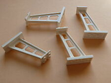 Lego 4 supports blancs set 6433 60095 3409 1775 / 4 white  support