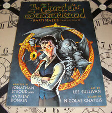 The Amulet of Samarkand A Bartimaeus Graphic Novel (2010) Disney VF Condition