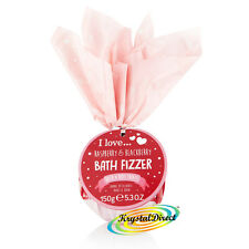 I Love Bath Bomb Fizzer Raspberry & Blackberry 150g Luxury Xmas Gift