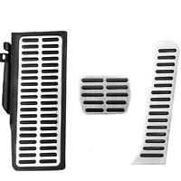 VW B6 B7 CC Automatic Aluminium R Line Pedals LHD Pedal pads Cover set Foot rest