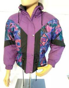 Vintage Ski-doo Veste Muskoka Bombardier Snowmobile Jacket Coat Women M 80s/90s