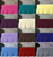 "Base Valance Sheet 16/"" Pillowcase Sold Separate FRILLED Extra Deep Sheet 40cm"