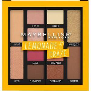 Maybelline Eyeshadow Palette Makeup,CHOOSE Soda Pop OR Lemonade Craze