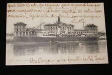 CALAIS LA GARE MARITIME  1918 PAS DE CALAIS R1045