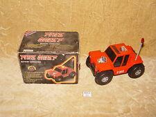VINTAGE BOTOY PRIMELINE FIRE CHIEF a batteria auto 1983 Tumble Buggy 3338F