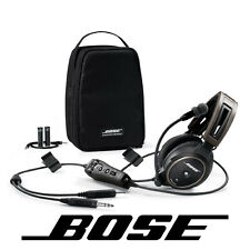Bose A20 Aviation Headset Battery Power GA/Dual Plug NO Bluetooth 324843-2020