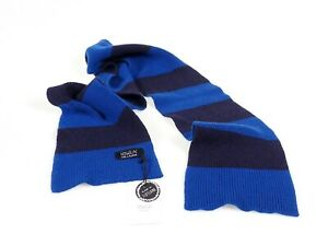 Howlin Men's Mind Bender  Lambswool Long Scarf Made In Scotland NWT Retail $100