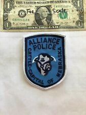 Alliance Nebraska Police Patch(Cattle Capitol) Un-sewn in great shape