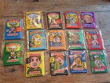 1 set pack lot Garbage Pail Kids 2,3,4,5,6,7,8,9,10,11,12,13,14,15 1985-1988