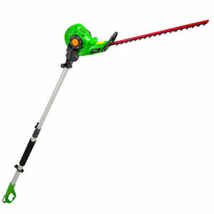 BMC 450w Hedge Trimmer Long Reach Telescopic Pole with Rotating Head