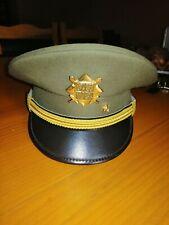CZECH REPUBLIC Military police hat cap polizeimütze casquette obsolete