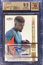 Odell Beckham Jr. 2014 Sage Hit Autograph Rookie Gold /250 BGS 9.5 (10) Gem Mint