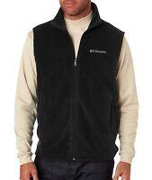 Columbia Men's Cathedral Peak II Vest, Size S-3XL, Quick Dri, Fleece, Jacket