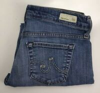 AG Adriano Goldschmied THE TOMBOY CROP Relaxed Straight Crop Jeans Sz 27