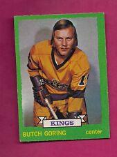 1973-74 OPC # 155 KINGS BUTCH GORING NRMT CARD (INV#5785)