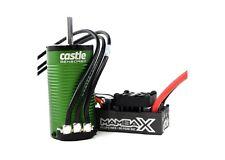 Castle Creations Mamba X SCT WP ESC w 2400Kv Sensored Motor w 5mm Shaft COMBO