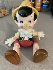 Disney Pinocchio Jointed Doll Porcelain Music Box By Schmid