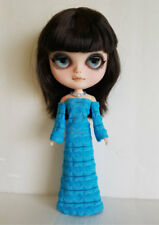 BLYTHE DOLL CLOTHES Blue Gown and Jewelry Handmade Fashion NO DOLL dolls4emma