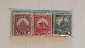 3 Bundle / Pacchetti da 100 francobolli ciascuno - 1926/1927 - UNGHERIA [UNG03]