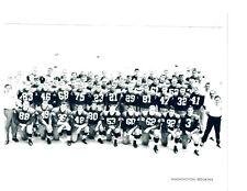 1958 WASHINGTON REDSKINS TEAM  8X10 PHOTO FOOTBALL NFL HOF USA