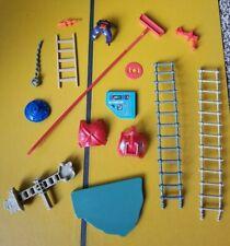 Vtg He-Man MOTU CASTLE GRAYSKULL WEAPONS PARTS LOT Armor Ladder Panel