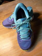 Saucony Womens Purple Blue Multi Triumph ISO 3 Running Sneakers 9 Medium (B, M)